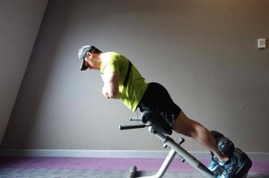 Exercises that Strengthen back muscles - Hyper extension