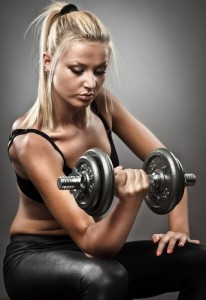 weight training for women- Confident and strong