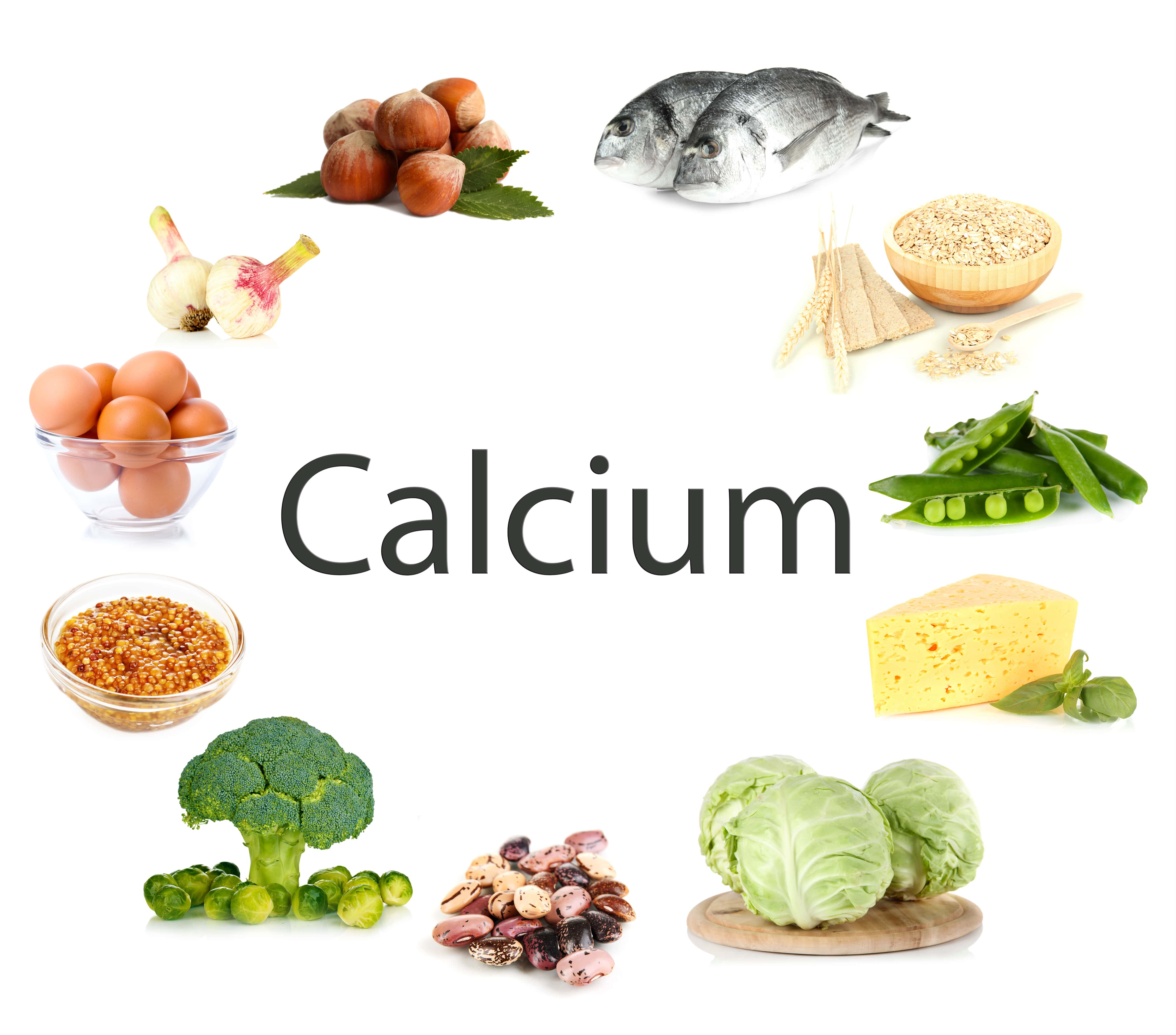 Foods with calcium