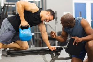 Your first personal training session